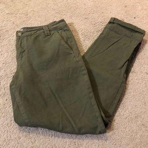 Hunter green trouser pant